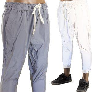 Pantaloni Riflettenti Uomo Luminescenti REFLECTIVE Illuminano Catarinfrangenti 1