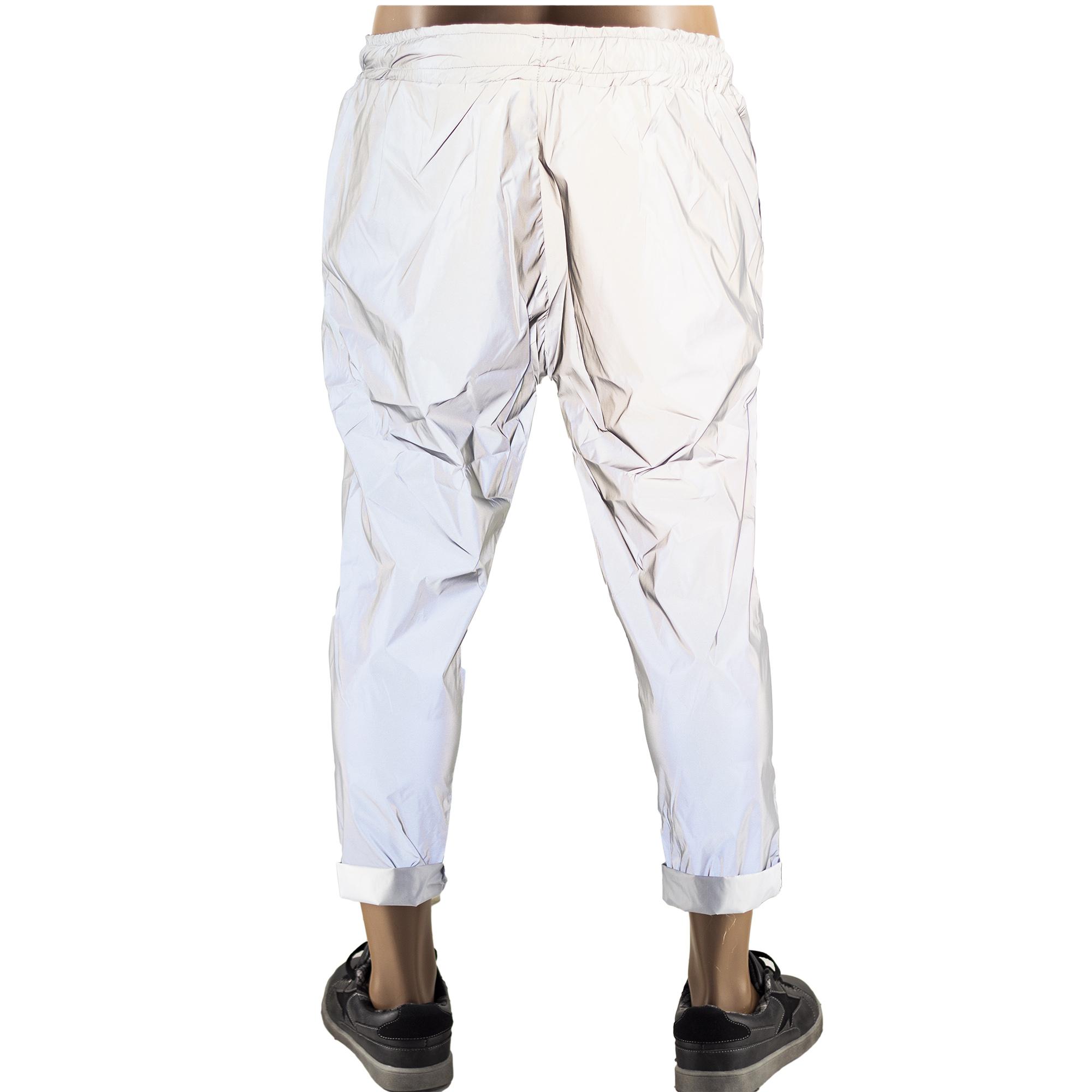 super economico vari colori prezzo incredibile Reflective Uomo Illuminano Si Catarinfrangenti Pantaloni ...